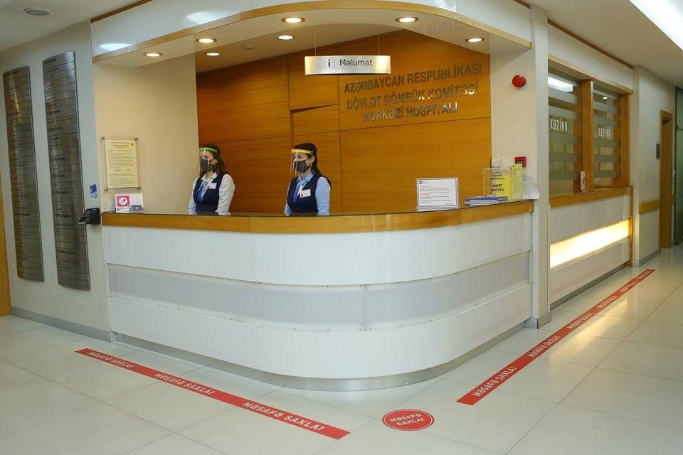 Gallery Foto Gallery Mərkəzi Gomruk Hospitali Covid 19 Pandemiyasi Zamani