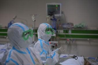 Mərkəzi Gomruk Hospitali Pandemiya Xəstəxanasi Kimi Fəaliyyət Gostərməyə Basladi